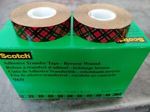 3m Scotch 3 4 X 18 Yd 969 Atg Adhesive Transfer Tape Case Of 12 Rolls