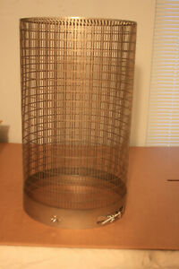 Bell Jar Vacuum Laboratory Glass Ss Safety Cage