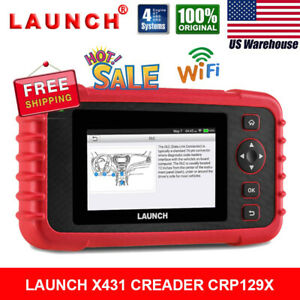 Launch X431 Diagnostic Scanner Crp129x Cr319 Auto Obdii Scan Tool Code Reader