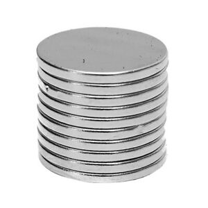 Kf_ 10pcs 15x1 5mm Round Disc Rare Earth N50 Neodymium Diy Magnets For Crafts
