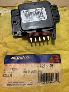 216 46 Ac Delco Engine Control Module New For Chevy Olds Suburban Express Van