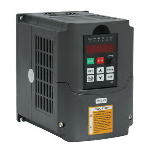 3hp 10a 2 2kw 220v Variable Frequency Drive Inverter Vfd Vsd Single To 3 Phase