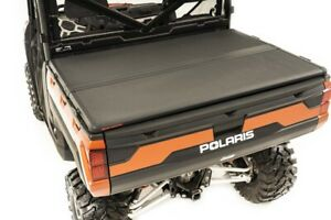 Rough Country Polaris Hard Folding Bed Cover W tailgate Lock 18 20 Ranger 1000xp