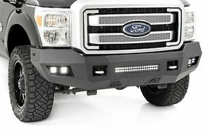 Rough Country Ford Heavy duty Front Led Bumper 11 16 F 250 f 350