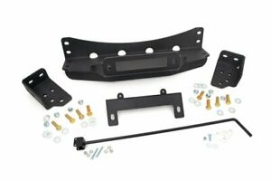 Rough Country Gm Hidden Winch Mounting Plate 07 13 Silverado Sierra 1500 Pu