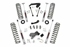 Rough Country 4in Jeep Suspension Lift Kit 07 18 Wrangler Jk