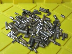 Mixed Lot 125 Mixed 1 4 Drive Sockets Proto Williams Apex And Other Brands