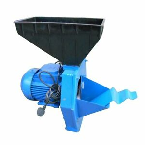 Electric Feed Mill Grinder Corn Grain Oats Wheat Hay Straw Crusher Elikor 1