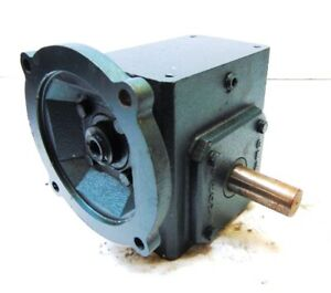 Grove Gear Right Angle Worm Gear Speed Reducer Tmq1206 3 2 530 Hp 5 1 Ratio