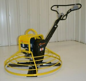 Electric Power Trowel Walk behind Concrete 36 Cement Packer Brothers 110 Volt