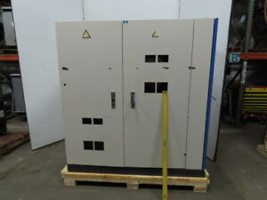 73 X 64 X 30 Electrical Enclosure Cabinet 2 Door W Side Compartment