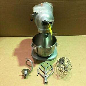 Hobart N50 Commercial Mixer Gear driven 3 speed 5 Quart Gray