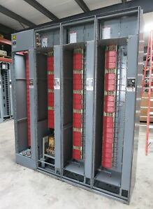 Square D Model 6 600 300 Amp 480v Mcc Motor Control Center 4x Section 600a 300a