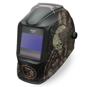 Lincoln Viking Graveyard Shift 2450 Welding Helmet K3099 4