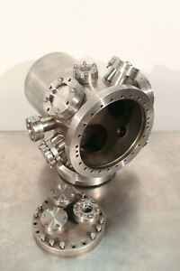 High Vacuum Chamber Cf Conflat 8 25 X 13 Inch 3 Gal W Viewports Extras Ss