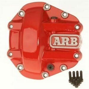 Arb 0750003 Iron Differential Diff Cover Red For Dana 44 Axles