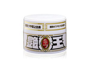 Soft99 The King Of Gloss Solid White Wax Solid Japan Car Auto Care Thick Heavy