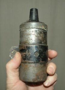Old Unknown Domestic Ignition Coil Classic Original Vintage Electrical Auto Car