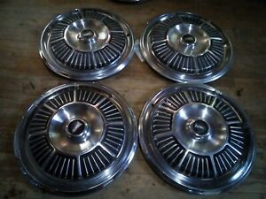 1965 Plymouth Fury Satellite Hubcaps Wheel Covers Mopar