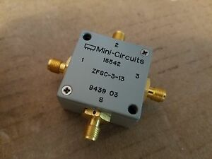 Mini circuits Zfsc 3 13 Power Splitter Combiner 1 200mhz Rf Microwave 943903
