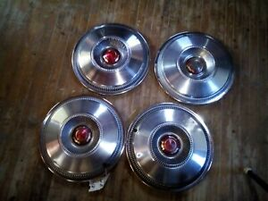 1965 Chrysler Newport 14 Wheel Covers Hubcaps Set Of 4