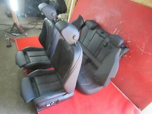 Sansatec Sport Seats Black Heated Seat Set Oem Bmw F36 Gran Coupe 430i 440i