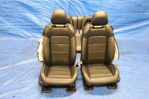 2020 Ford Mustang Gt Coyote 5 0 V8 Oem Leather Fr Rr Seat Kit Damage 1225