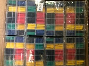 280 Pcs Assorted 2 1 Heat Shrink Tubing Tube Sleeve Wire Cable Kit Lot 48 Cases