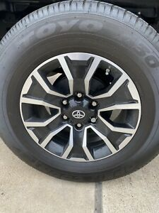 17 Toyota Tacoma Oem Factory Trd Wheels And Tires Rims Charcoal Pro 4 2020
