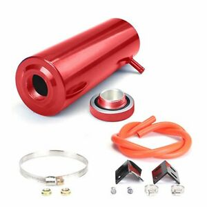 800ml Universal Red Radiator Coolant Aluminum Catch Tank Overflow Reservoir