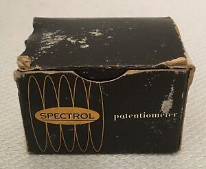Vintage Nos Spectrol Precision Potentiometer Model 530