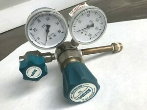 Airgas Gas Regulator Two Stage Y11 244b Cga 580 Meter Welding Cylinder