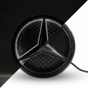 Black Car Led Emblem Grille Logo Light For Mercedes Benz E Cla Ml Glk 2013 2015
