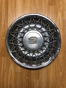 1975 1984 Cadillac Wire Wheel Cover Hubcap 15