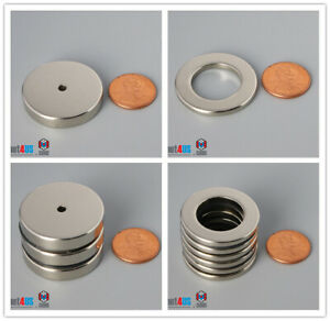 32mm 1 1 4 Outer Diameter Rare Earth Neodymium Multiple Size Ring Magnet Crafts