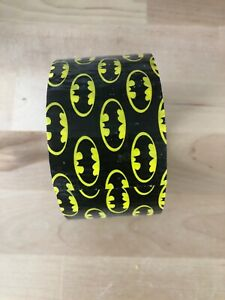 New Unsealed Roll Scotch Brand Duct Tape Batman 1 88 inch By 10 yd Read