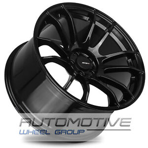 Avid1 Av20 Rims 18x9 5 38 5x114 3 Gloss Black Wrx Civic Tl Sti Rsx Lancer Is300