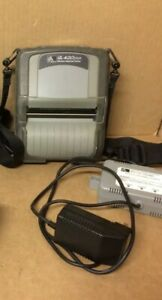 Zebra Ql420 Plus Wireless Bluetooth Thermal Label Printer With Charger Battery