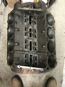 Mopar 400 Bare Block 030 Over Bore Size Chrysler Dodge Plymouth Dated 3 6 76