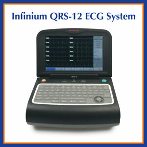 Infinium Qrs 12 Digital Touch Screen 12 lead Electrocardiograph Ecg System