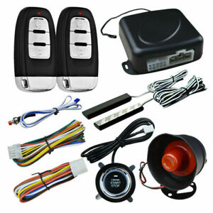 Universal Car One Button Start Ignition Remote Control Start Anti Theft System