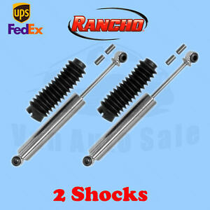 Rancho Rs7000mt Rear 1 5 Lift Shocks For Suzuki Samurai 4wd 85 95 Kit 2