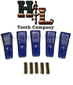 230claw Forged In Usa Bucket Teeth Kit Flexpins 5 Pack By H l Tooth Company