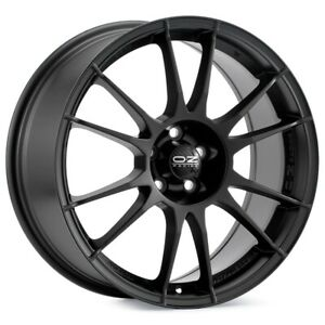 O z Racing Ultraleggera 17x8 5x114 3 Et48 Black 4 Wheels