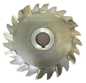Horizontal Side Milling Cutter Marked F d 7 x1 2 x1 1 4 Hss Slitting Slot Mill