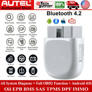 Autel Maxisys Ap200 Mk808 Bt Diagnostic Scan Tool All System Key Fob Programming