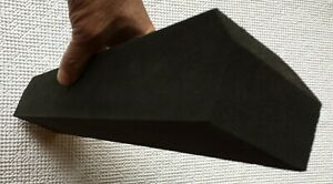 Big black block Longboard Hand Sanding Blocks Professional Rubber Blend 2 3 4