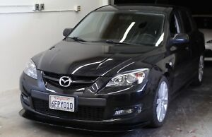 Gen 1 Mazdaspeed 3 Front Lip Splitter With Apr Support Rods Included Easy Instal