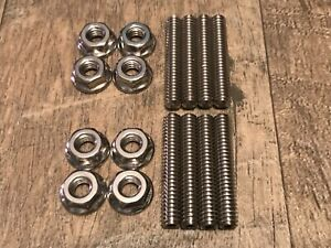 Sb Chevy 283 327 305 307 350 400 Valve Cover Stud Kit Bolts Stainless Steel