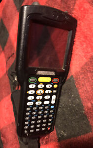 Zebra Motorola Computer Barcode Scanner Mc32no previous Retail Use Not Charged